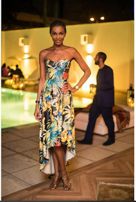 """Stop Showing Off, We Know You Have 6-Pack"": Fan Blasts Agbani Darego"
