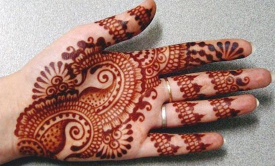 Front Hand Henna Mehndi Design : Awesome mehandi new designs