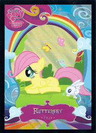 My Little Pony Fluttershy [Filly] Series 2 Trading Card