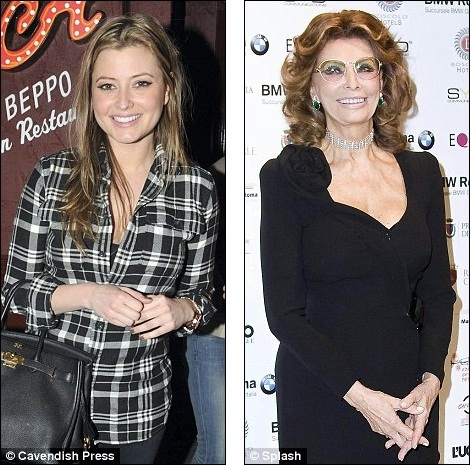 But She Has Nothing On Sophia Now 77 Who At 26 Was Two Years Younger Than Holly When Starred In The Movie Set London