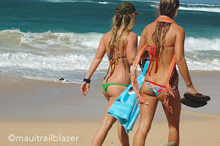 hawaiibeaches Baldwin beach Maui bikinis