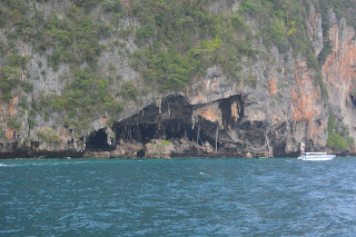 Caves in Phi Phi island