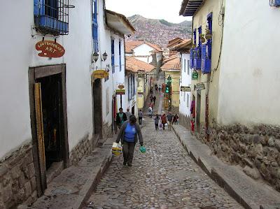 Cuesta de San Blas, Cusco, Perú, La vuelta al mundo de Asun y Ricardo, round the world, mundoporlibre.com