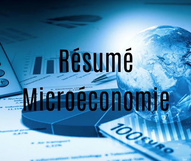Résumé Microéconomie