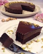 Bolo mousse de chocolate (saudável; vegan; fit; sem nenhum tipo de açucar)
