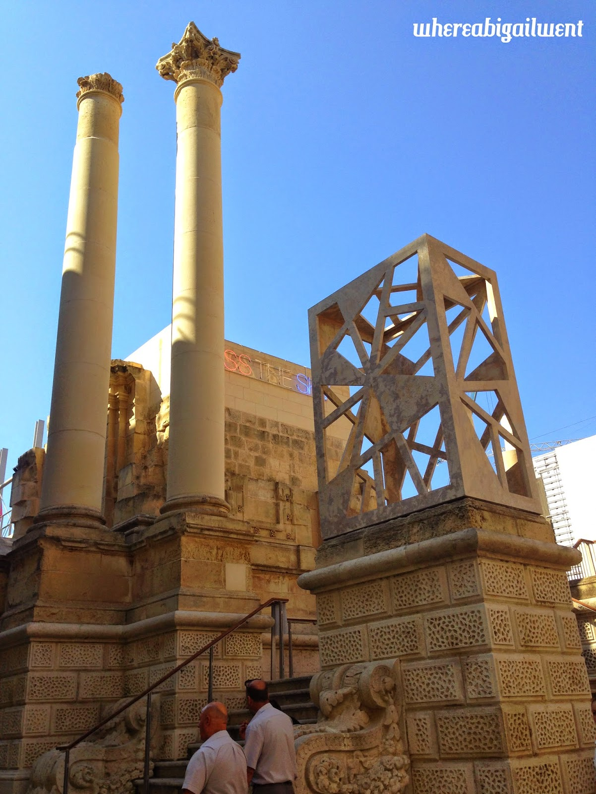 Construction of the New City Gate of Valletta