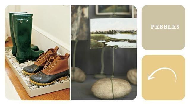 kamienie buty