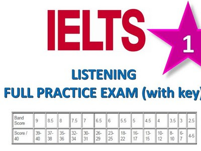 Tips, IELTS of Sample drill