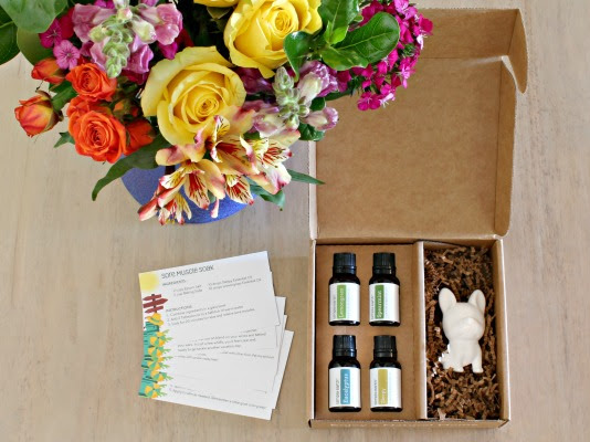 Simply Earth July Essential Oil Recipe Box + Coupon
