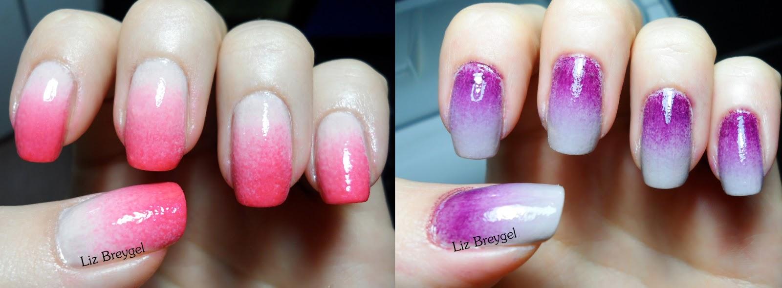 pink,purple,nail polish,manicure