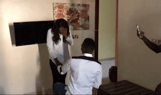 Super Eagles Player, Keneth Omeruo Proposes To Long Time Girlfriend