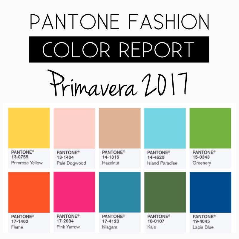 Fashion work alertadetendencia colores seg n pantone - Paleta de colores neutros ...