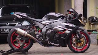 Kawasaki ZX10R 2015/2016  Plat B full paper