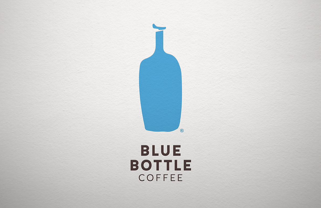 blue bottle coffee on packaging of the world creative