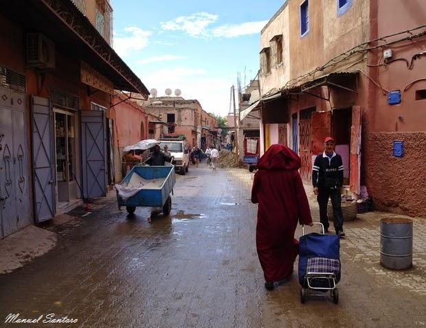 Marrakech, nei pressi della Moschea Ben Saleh