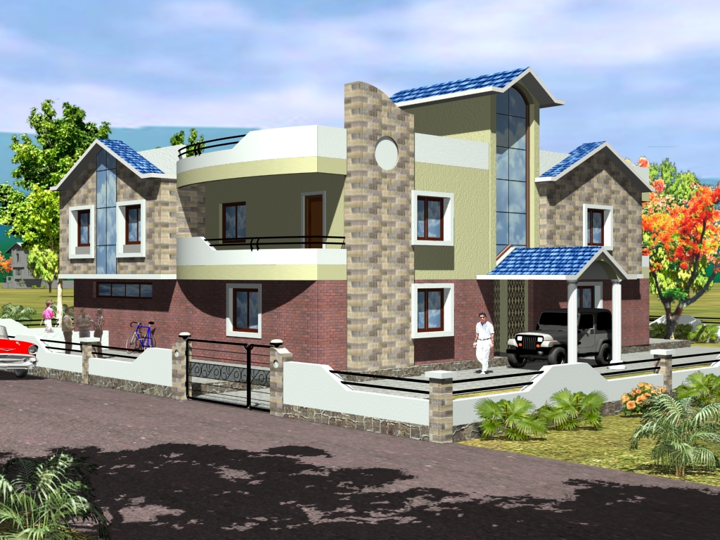 Top House Front Elevation Models : Top house front elevation models