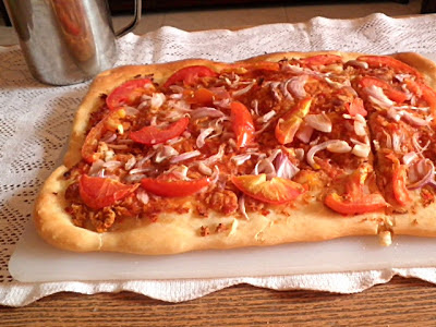 Best Pizza Dough Recipe @ treatntrick.blogspot.com