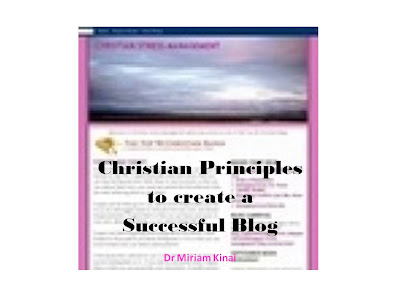 Christian Principles to Create a Successful Blog