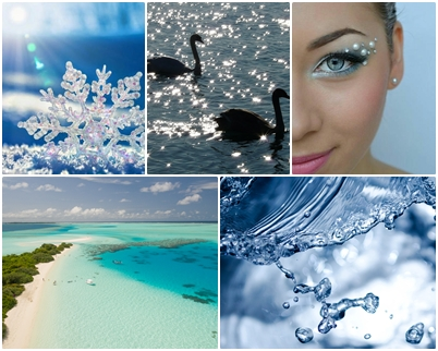 air, warna, dan bentuknya