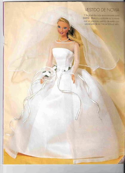 Patrones de vestidos de fiesta de barbie