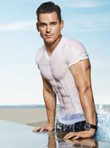 Matt Bomer Workout and... Channing Tatum Facebook