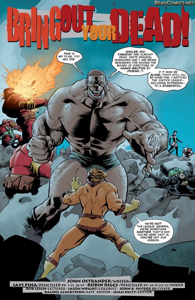 Suicide Squad comic