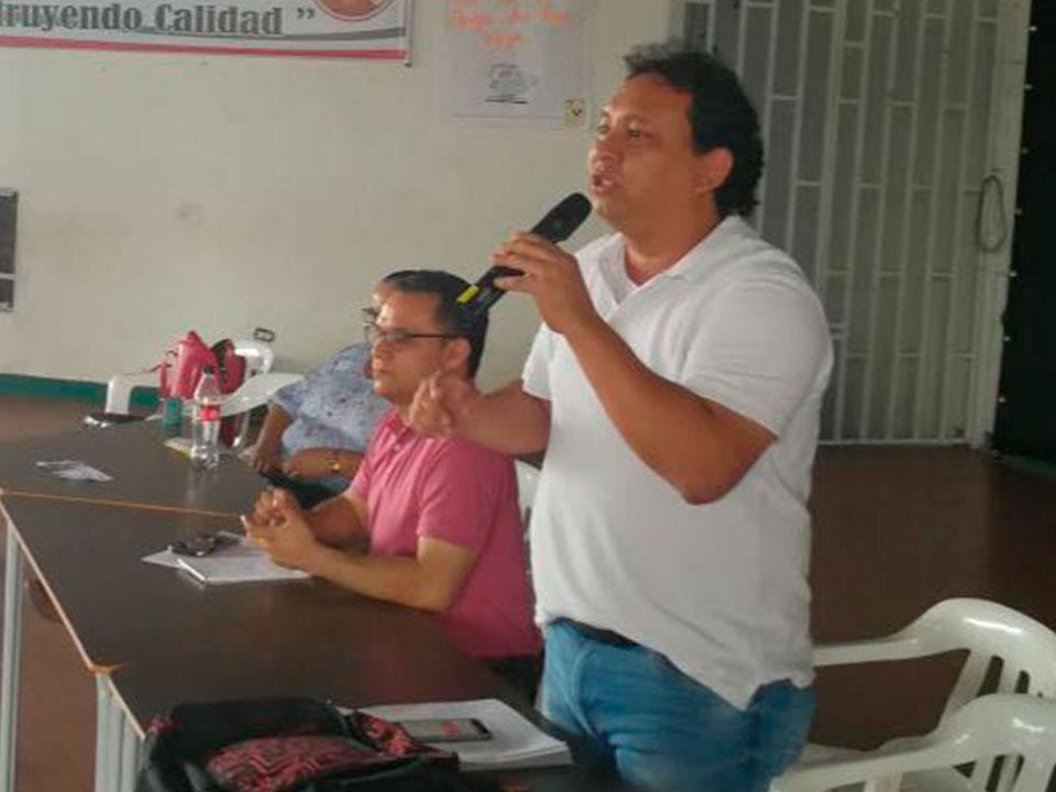 Magisterio del Meta y Villavicencio salieron a las calles en la movilización del Paro Nacional