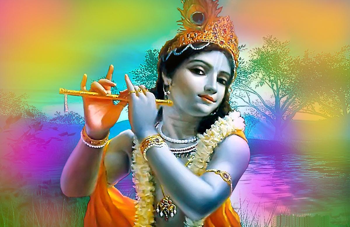 God Krishna Hd Wallpaper For Mobile Wallpaper Galaxy