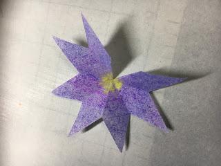 影織の切り絵ポップアップカード作り方⑦
