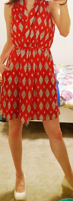Stitch Fix Review Red Dress