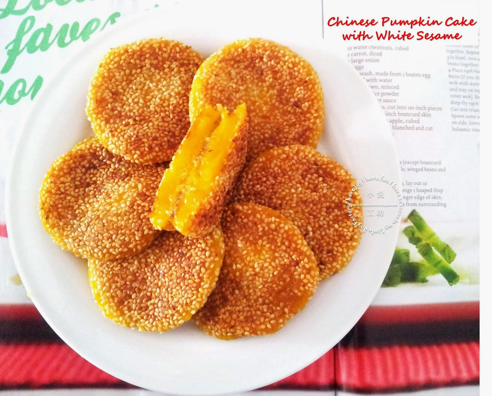 Chinese Fried Pumpkin Cake Recipe