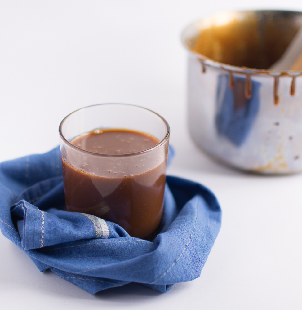 easy caramel sauce with milk