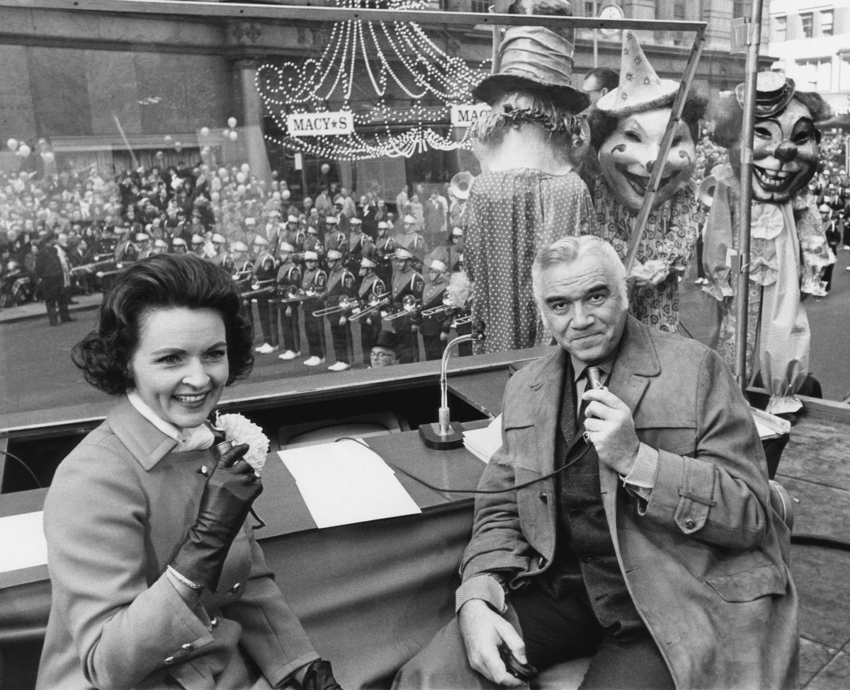 Betty White Hosted The Macys Thanksgiving Day Parade Below Is A Collection Of 12 Fabulous Vintage Photos In Action And Promos Along With