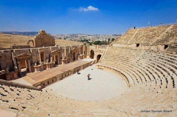Teatro Sur (Jerash, Jordania)
