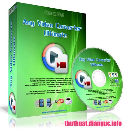 Download Any Video Converter Ultimate 6.2.8 Full Key + Portable