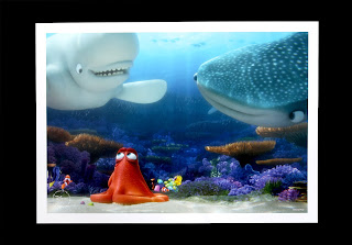 finding dory disney store lithograph prints