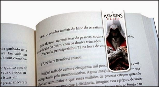 marcador de página assassins creed