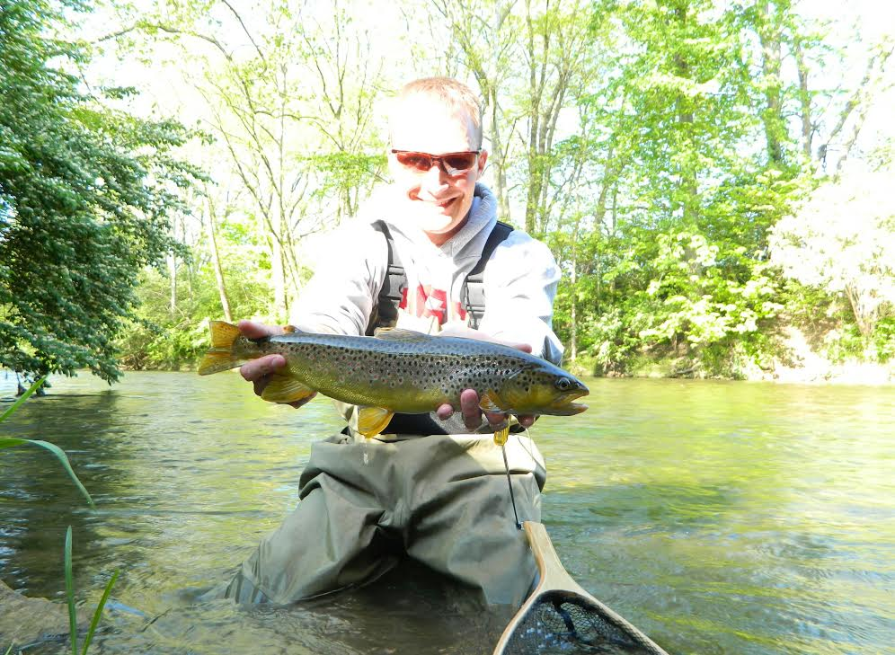 Mad river outfitters fishing reports 5 20 16 for Fly fishing ohio