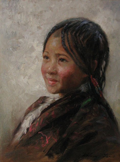 Chinese Figurative Painter | Kelvin Lei