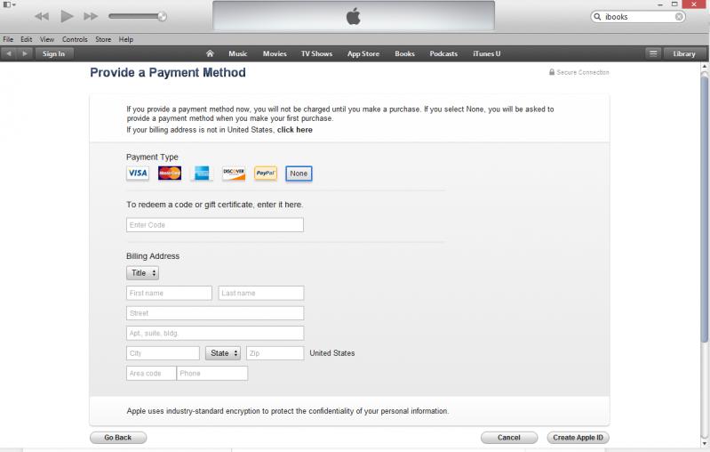 tạo tài khoản apple itunes us miễn phí
