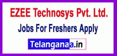 EZEE Technosys Pvt. Ltd. Recruitment Jobs For Freshers Apply