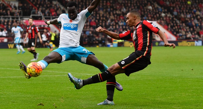 cuplikan gol newcastle vs bournemouth 0-1