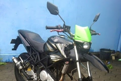 Tips Modifikasi Motor Old Vixion Menjadi Supermoto