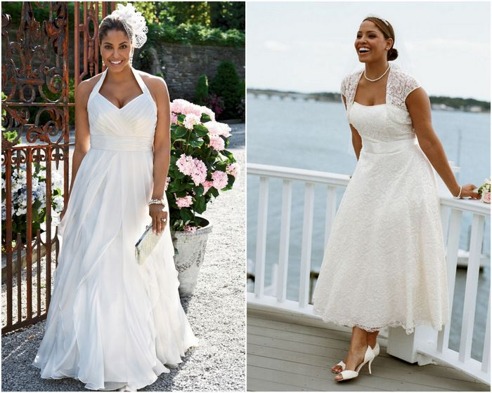Wedding Dresses For Short Fat Brides | Wedding Trend For Brides