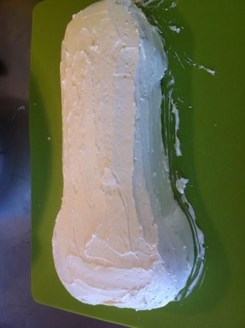 vitt lager på ollonet