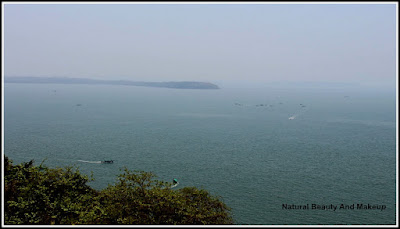 Arabian Sea - view from Aguada fort peak point