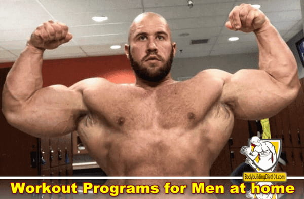 Workout and exercise programs for men