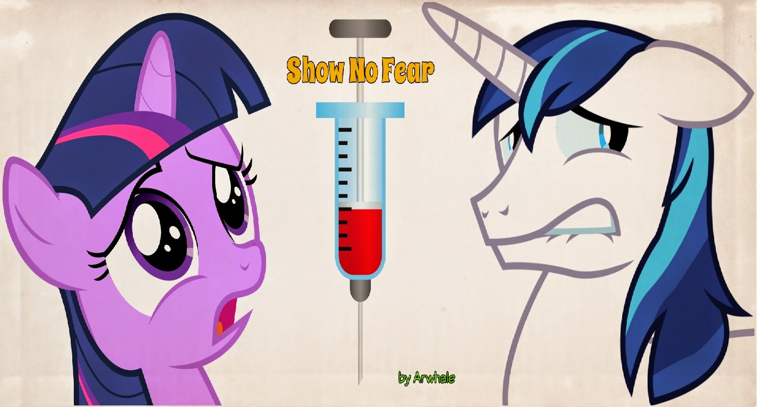 equestria daily mlp stuff story shining armor shows no fear