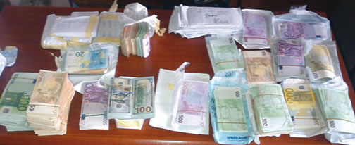 hard currencies seized drug dealer lagos