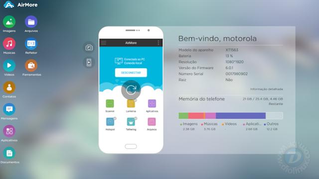 AirMore Android e iOS